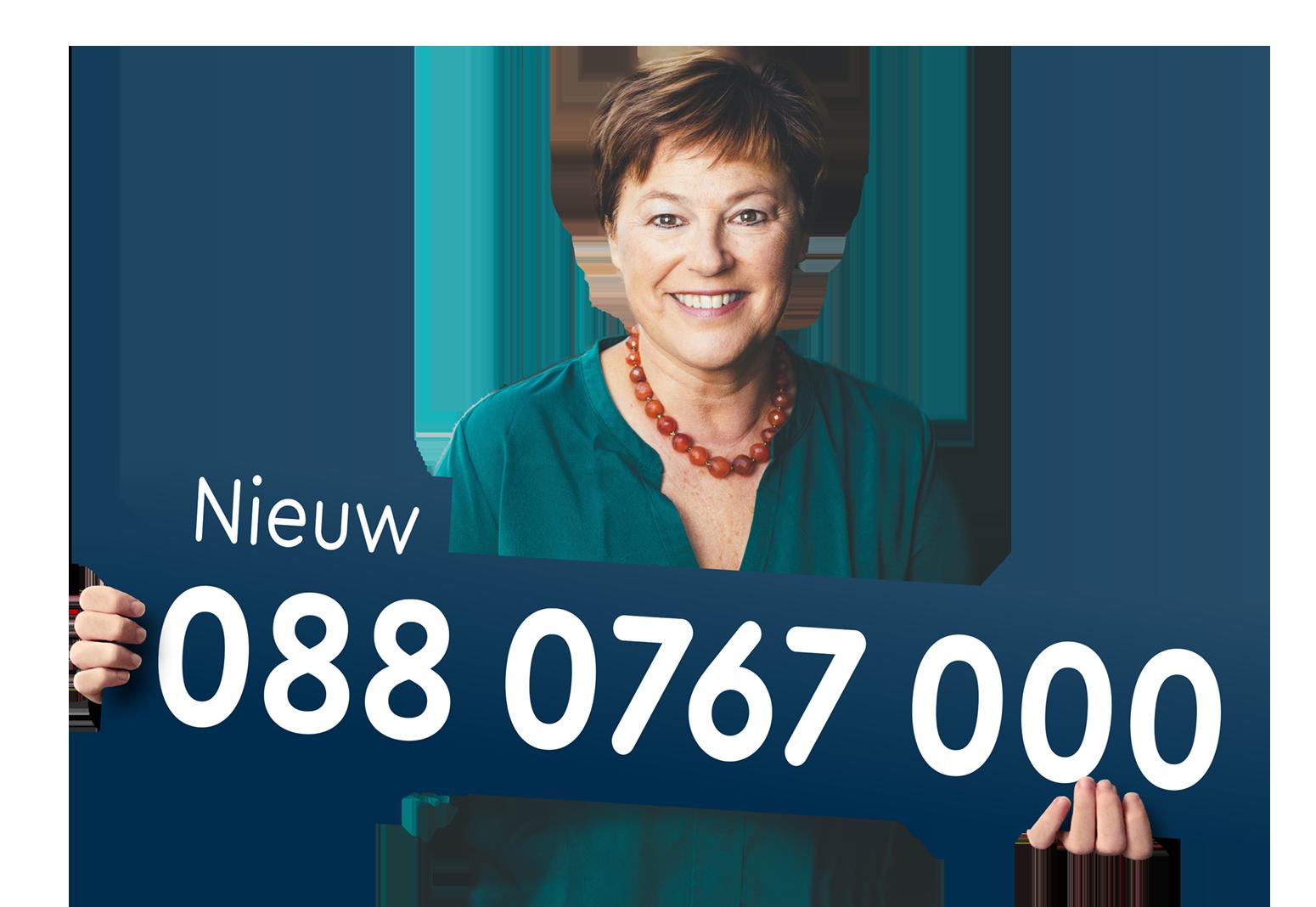 Campagnetoolkit: nieuw telefoonnummer